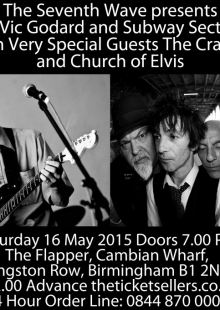 Vic Godard & Subway Sect / The Cravats / Church of Elvis