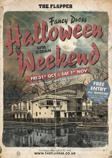 Halloween Weekend at The Flapper