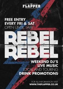 Rebel Rebel Weekends