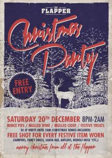 Christmas Party @ The Flapper