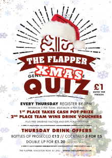 The Flapper's Annual Christmas Quiz