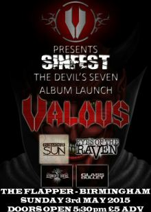 Valous / In Search of Sun / Eyes of the Raven / GlassBullet / Stonepit Drive