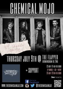Chemical Mojo (E.P. Launch) + Support