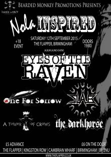 Nola Inspired! / Eyes of the Raven / Slab / One for Sorrow / A Tower of Crows / The Darkhorse