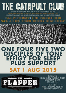 One Four Five Two / Disciples of Tone / Effigy for Sleep + Support