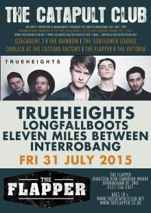 Trueheights / Longfallboots / Eleven Miles Between / Interrobang