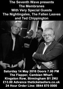 The Membranes / The Nightingales / The Fallen Leaves / Ted Chippington