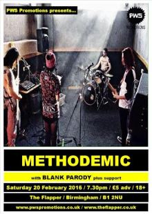 Methodemic / Blank Parody + Support