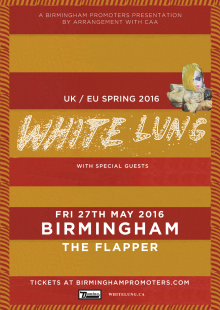 White Lung + Special Guests
