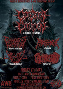 Cerebral Effusion / Omnipotent Hysteria / Atonement / Spawned From Hate / Colpoclesis