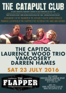 The Capitol / Laurence Wood Trio / Vamoosery / Darren Hames