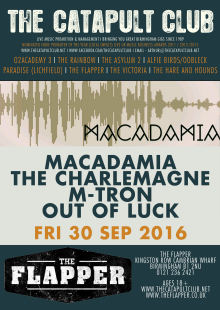 Macademia + The Charlemagne + M-Tron + Out Of Luck
