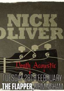 Nick Oliveri + Resin + Shotdown Zed + Death Of Rats