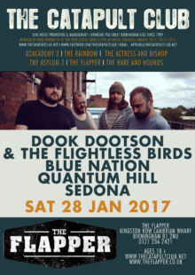 Dook Dootson And The Flightless Birds + Blue Nation + Quantum Hill + Sedona