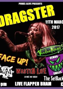 Dragster + Voodoo Kings + Demon Smiles + Wasted Life + Face Up + More