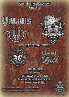 Valous + The Black Hounds + The Loved & Lost + Devil In Dorian